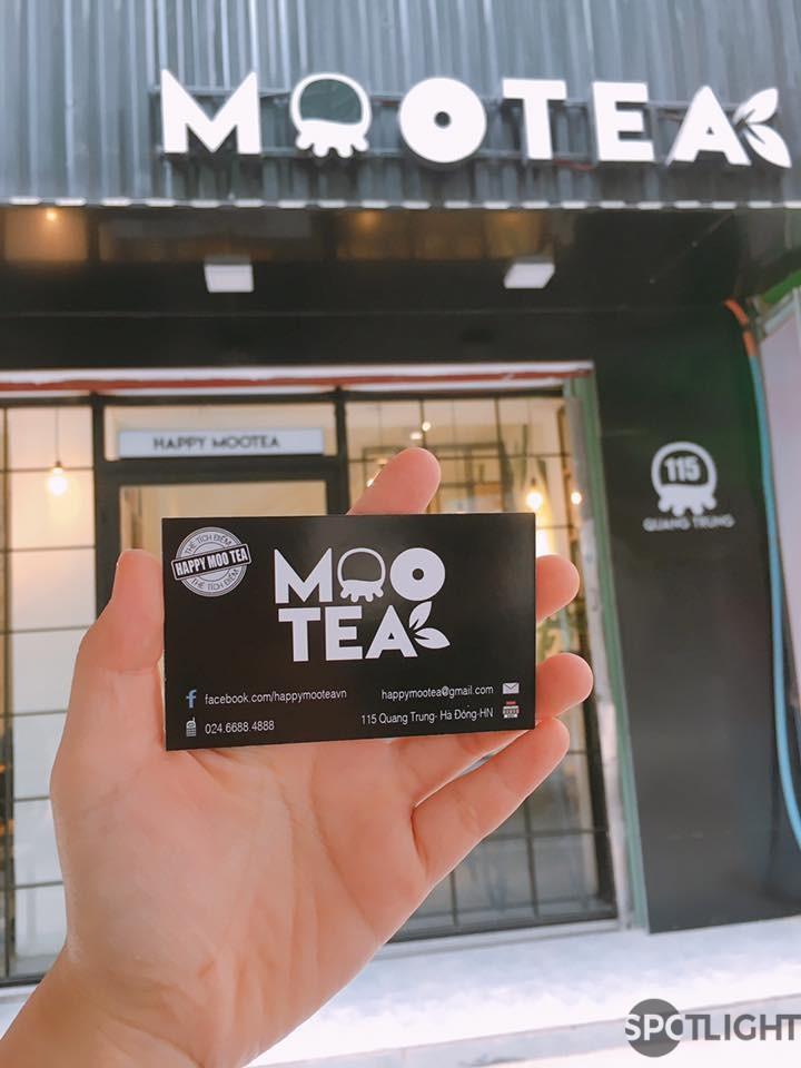 Thơm ngon quên đường về cùng Moo Tea